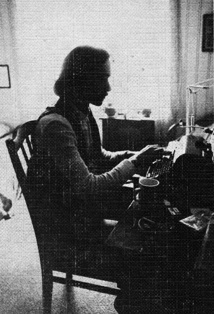 Kaj Skagen på Vestre Garder i 1974