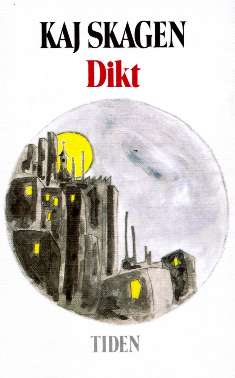 """Omslag for diktsamlingen """"Dikt"""""""