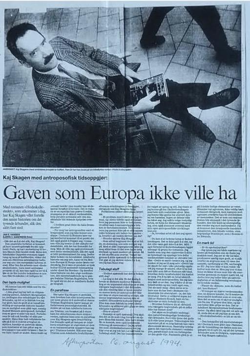 Gaven som Europa ikke ville ha