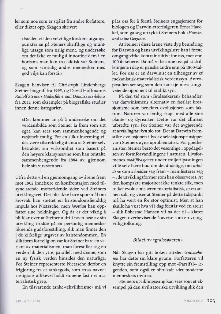 Bokomtale i Libra 02/2020