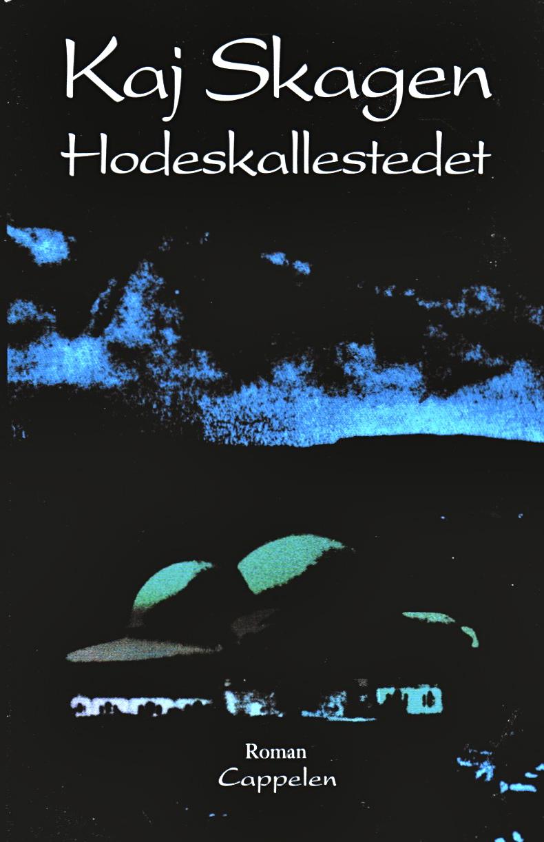 Omslag for Hodeskallestedet av Kaj Skagen