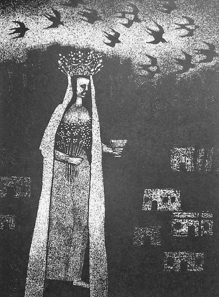 Illustrasjon av Bjørn Bjørneboe