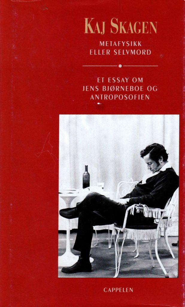 Omslag for Metafysikk eller selvmord av Kaj Skagen