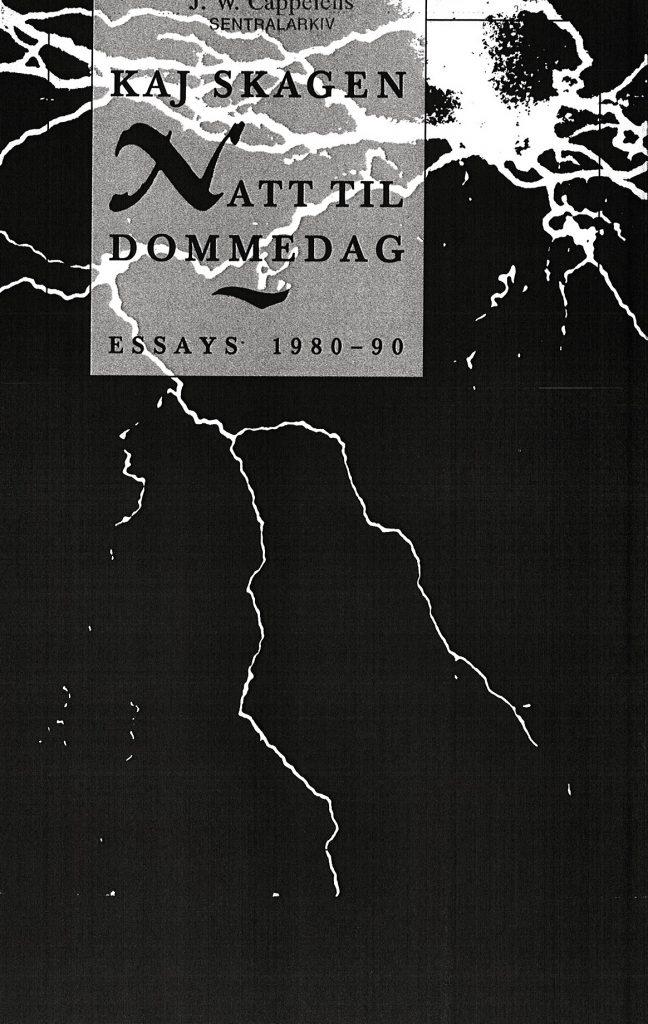 Omslag for Natt til dommedag av Kaj Skagen