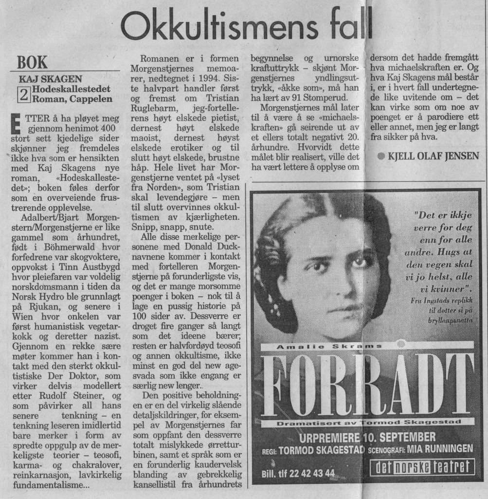 Arbeiderbladet 18. september 1994