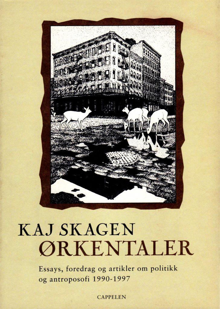 Omslag for Ørkentaler av Kaj Skagen