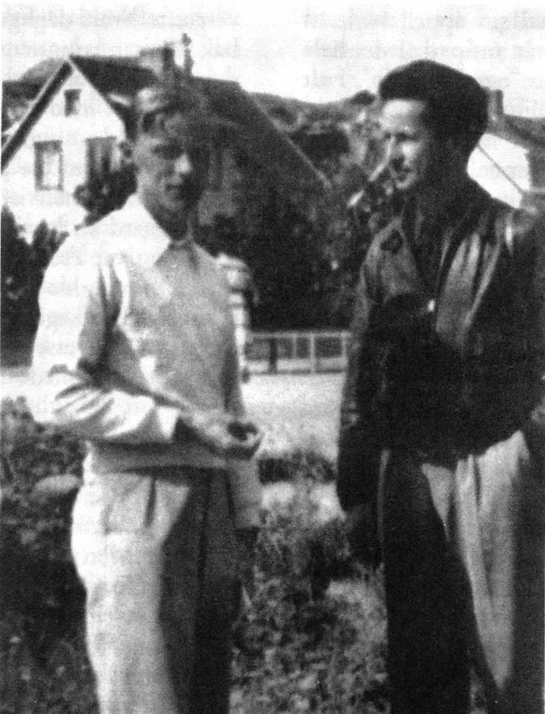 Karl Brodersen og Jens Bjørneboe, Sverige 1953