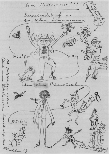 Illustrasjon av Jens Bjørneboe.