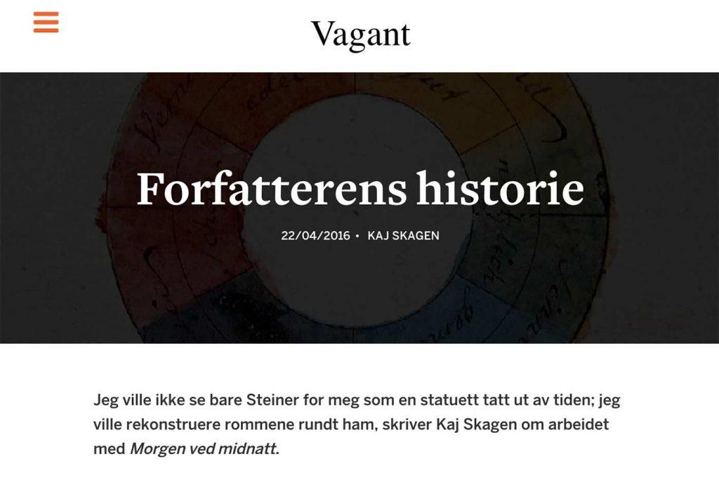 Faksimile fra Vagant.no